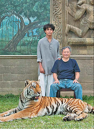 Ang Lee and Tiger