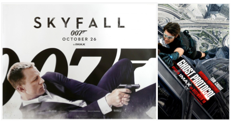 Skyfall gunning for MI4