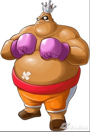 Fat punch guy