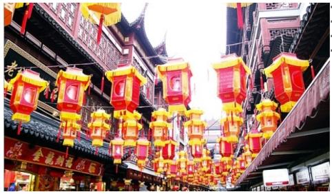 Chinese NY lanterns